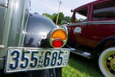 Smoky Mountain Model A Club picnic held at The Cove at Concord Park, Saturday July 18, 2015. 12 cars in attendance overall.